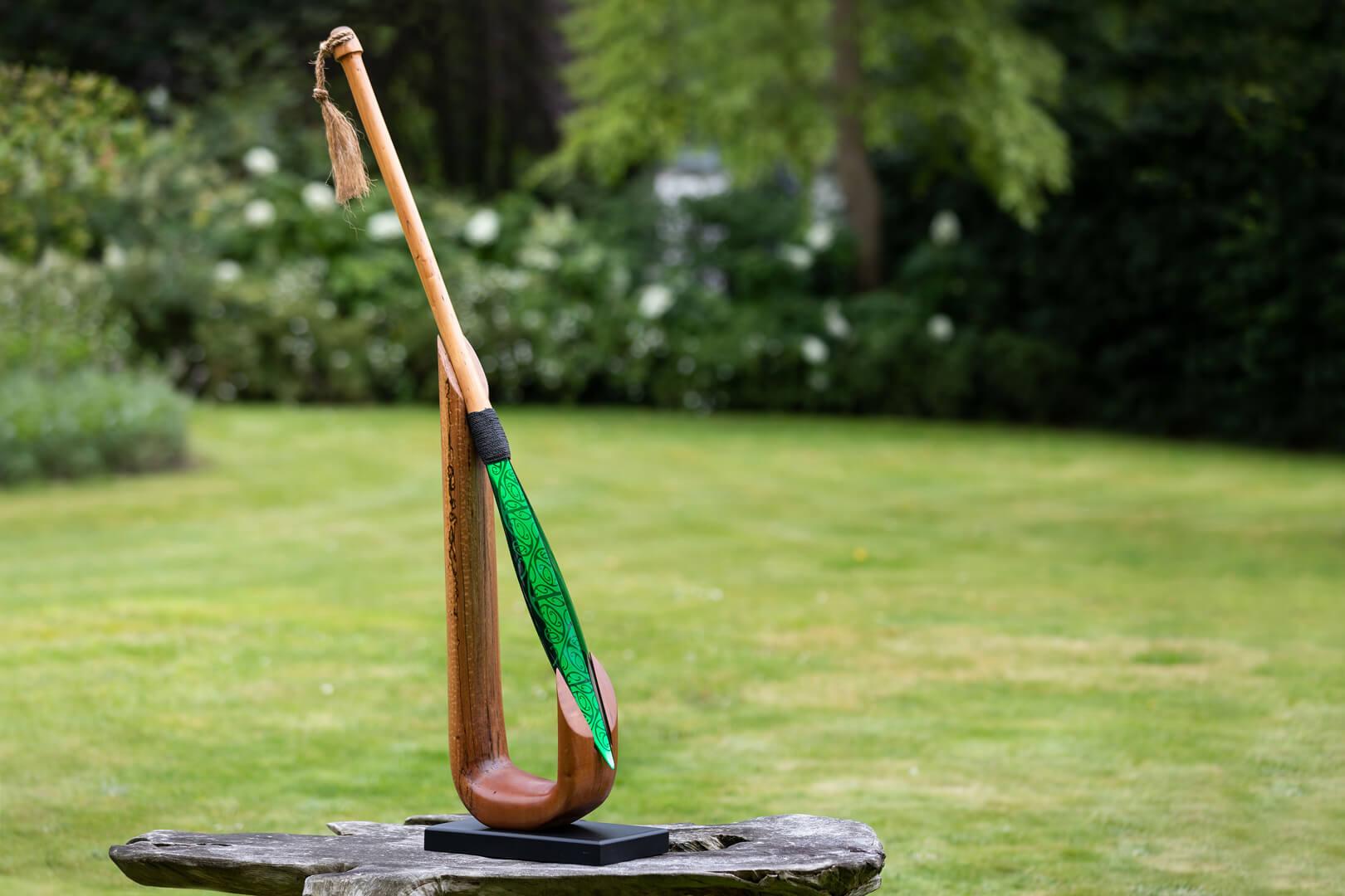 Glass paddle