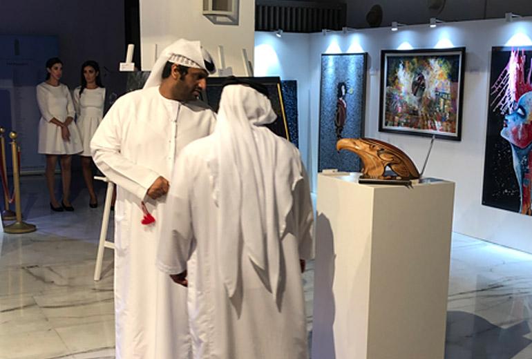 The Eagle Head nominated for the Global Art Awards Dubai