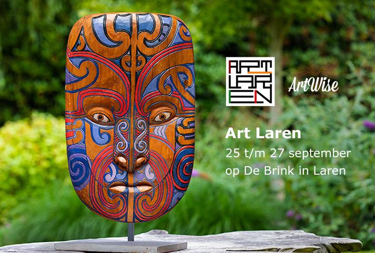 Expositie op Art Laren - 25 t/m 27 september