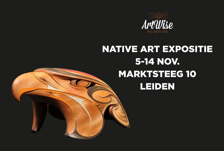 Native Art Expositie in Leiden, 5 t/m 14 november