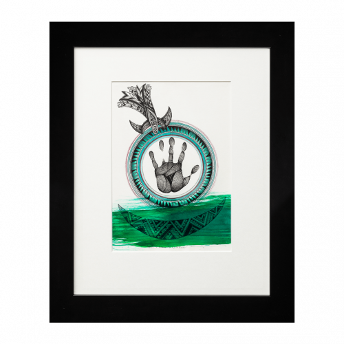 Nurturing the land, caring for the oceans, providing for the generations (Sold)